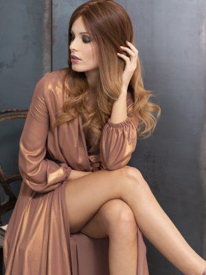 Peluca indetectable pelo natural mujer