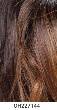 Carta general de colores para pelucas 154