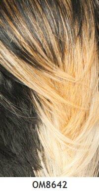 Carta general de colores para pelucas 158