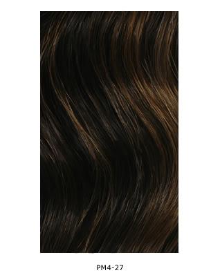 Carta general de colores para pelucas 98